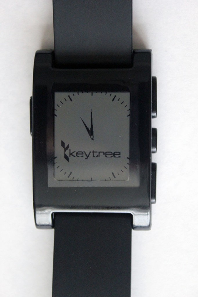 Keytree Pebble Watch Design